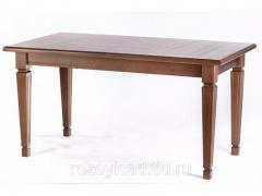 Beech kitchen dining table rectangular for kitchen classic 150x80 Vasco walnut