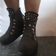 Ботинки валяные классика
