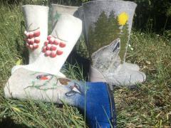 Ботинки женские из мериноса