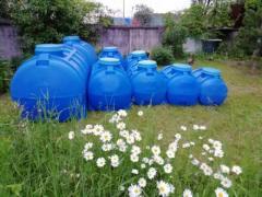 Buy capacity oval-horizontal polyethylene