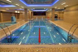 Construction of swimming pools, hamams (Turkish baths), turnkey saunas