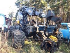 Harvester Ponsse Ergo 2011, H7