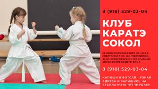 Karate for children Rostov West Olympia