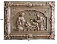 "Panel ""Holy family"""