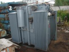Power transformer, used, removal, disassembly transformer