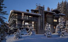 Rent and sale of luxury homes in Courchevel