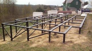 Строительство свайно-винтового фундамента