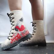 Women's boots Warming bullfinch